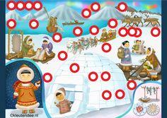 Nu interactief! Interactieve praatplaat, thema Noordpool & Zuidpool by juf Petra, kleuteridee.  Met veel informatieve video's voor kleuters