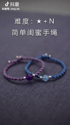 Diy Friendship Bracelets Tutorial, Diy Bracelets Easy, Bracelet Tutorial, Handmade Bracelets, Beaded Bracelets, Beaded Jewelry, Jewelry Necklaces, Handmade Wire Jewelry, Diy Crafts Jewelry