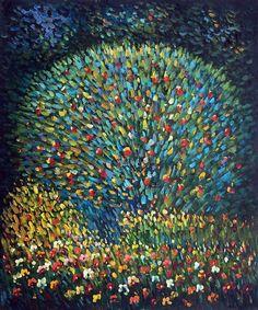 Gustav Klimt, Apple Tree