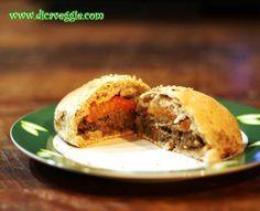 Clássico hambúrguer de soja. Fica ainda melhor quando sai do forno já no pãozinho integral quentinho.