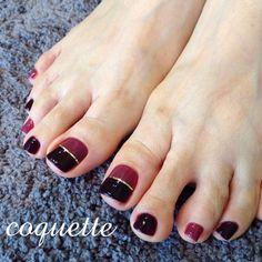 New nails art french fall Ideas Sparkle Nail Designs, Valentine's Day Nail Designs, Sparkle Nails, Feet Nail Design, Dot Nail Art, Diva Nails, Pedicure Nail Art, Feet Nails, Trendy Nail Art
