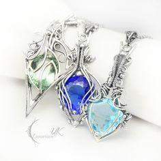 collection of necklaces IX Lunarieen UK by ~LUNARIEEN on deviantART