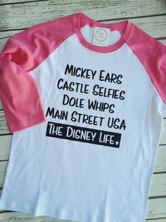 Hey, I found this really awesome Etsy listing at https://www.etsy.com/listing/492322711/raglan-disney-shirt-dole-whip-disney