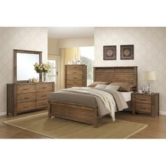 Progressive Furniture Brayden Panel Customizable Bedroom Set & Reviews | Wayfair