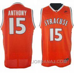 Carmelo Anthony Syracuse  15 Swingman Orange Jersey -  http   basketballequipment.nationalsales 66b731322