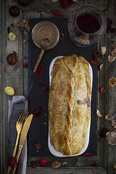 Wellington de carne picada rellena con salsa Pedro Ximénez - Mi Gran Diversión