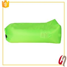 Fast Delivery Factory Price Whosales Custom Logo Fast inflatable sleeping bag/inflatable air bed lazy lounger laybag inflated