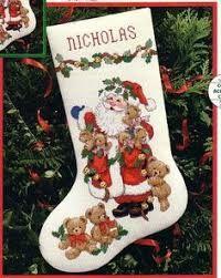 Resultado de imagen para dimensions cross stitch stocking