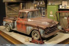 Model Car Diorama Building Ideas | Heavyweight!