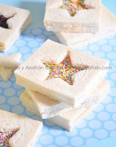 Una idea diferente para sándwiches de crema de cacahuate. ¡Seguro a tus hij@s les encantará!