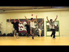 "@KeoneMadrid dancing to @Usher's ""U-Turn"" with @IanEastwood"