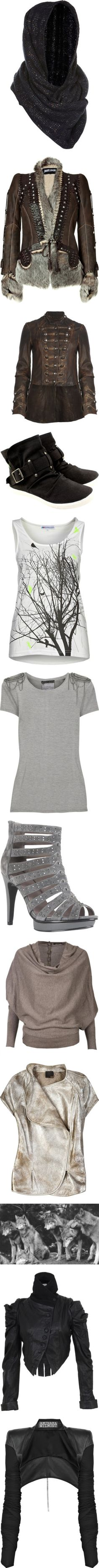 """""""Arya Stark"""" by summersdream ❤ liked on Polyvore"""