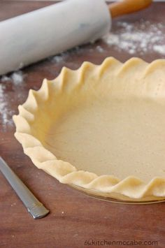 How to make a Simple Ripple Edged Perfect Pie Crust