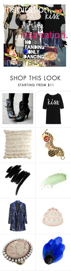 """INSPIRATION."" by francesca-and-glitter ❤ liked on Polyvore featuring Markus Lupfer, H&M, Bullet, Juicy Couture, Lancôme, Benefit, Diane Von Furstenberg, Luella, Miss Selfridge and Clips"