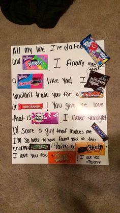 Birthday Gift Diy Cute Boyfriend Gifts Ideas Couples