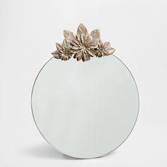 Espelho metal coroa - Zara Home