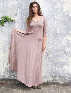 Crescent Perfect Pockets Long Dress