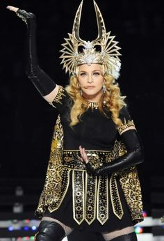 Madonna. She is going to be all of 54 this year. Wow!
