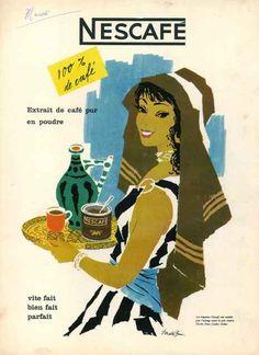 Nescafé 1950 -Donald Brun