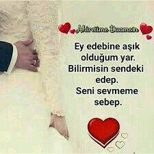 ❤ DemEt❤ SevdigimE... Muslim Images, Love, Amor