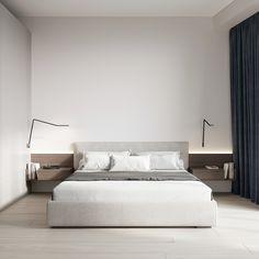 Bedroom #bedroom #modernbedroom #minimalisticbedroom #ideasforbedroom #minimalism #minimalisticarchitecture #minimalisticinterior #architecture #modernarchitecture #design #minimalisticdesign Modern Bedroom Decor, Green Curtains, 3d Texture, Living Room Paint, Minimalist Bedroom, Modern Interior Design, Minimalism, Contemporary, Furniture