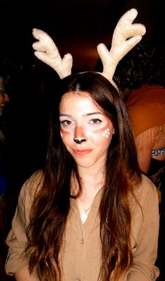 Me in my rein deer costume :)