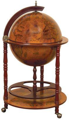 chariot globe terrestre bar mappemonde originale pinterest globes bar et liqueurs. Black Bedroom Furniture Sets. Home Design Ideas