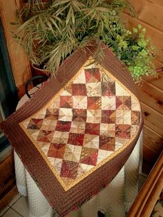 QUILT CIVIL WAR prints by Jo Morton table top by AuntiJoJos, $41.00