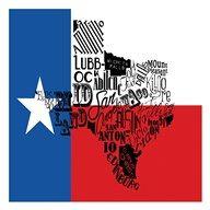 Texas Flag  Fine Art Print