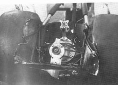 Unique view of the remains of Big Daddy Don Garlits last Front Engine dragster after massive failure at Lions Dragstrip