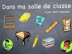 Dans ma salle de classe - Le clown Alexandre/Paul Langel (+playlist)