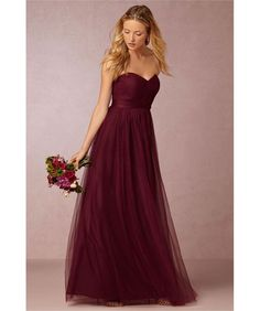 Aliexpress.com : Buy Burgundy Bridesmaid Dresses Long 2016 New Arrival Sweetheart Sleeveless Backlesswith Bow vestido longo robe demoiselle d'honneur from Reliable robe clothing suppliers on Life&Peace Dress Store  | Alibaba Group: