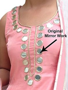 mirror work punjabi salwar suit latest design perfect for ant party or function Patiala Dress, Patiala Salwar Suits, Punjabi Dress, Punjabi Suits, Bridal Anarkali Suits, Wedding Salwar Suits, Wedding Suits, Punjabi Fashion, Bollywood Fashion