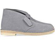 Grijze Clarks Originals schoenen Desert Boot sneakers