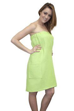 Spa Body Wrap Towel Lime