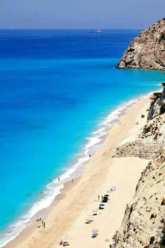 Egremnoi,Lefkada island, Greece