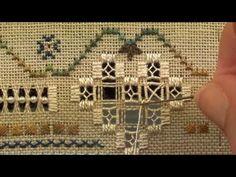 12 Mystic Christmas Sampler -  Hardanger - All Partial Greek Crosses - YouTube