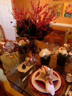 Image detail for -Christmas Tablescapes