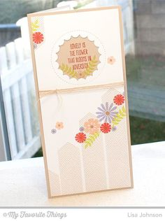 Whimsical Wishes, Peek-a-Boo Circle Windows Die-namics, Desert Bouquet - Lisa Johnson #mftstamps