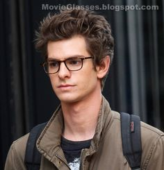 Andrew Garfield. I am so, so jealous of Emma Stone for having him as her man... Although Emma is also very gorgeous! :)