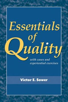 155 best college textbooks more images on pinterest college complete solution manual for essentials of quality with cases and experiential exercises edition by x victor e fandeluxe Gallery