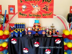 Pokemon Birthday Party Ideas | Photo 9 of 11 | Catch My Party