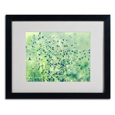Trademark Fine Art Spring Notes Framed Wall Art - BC0104-B1114MF