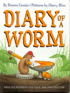 Diary of a Worm is a great book to use for a unit study. It is the adorable story of an earthworm told through journal entries in his diary. You...
