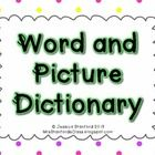 This is a freebie addition of my   words and picture dictionary  which is a great way to help your students build their vocabulary while building d...