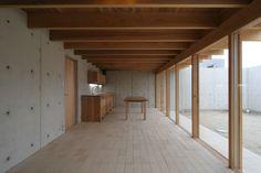 Uno Tomoaki - Nagashima courtyard house