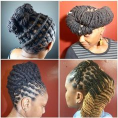 Artfully Styled Locs - http://community.blackhairinformation.com/hairstyle-gallery/locs-faux-locs/artfully-styled-locs/