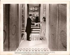 """Jimmy Stewart and Jean Arthur in """"Mr. Smith Goes to Washington"""" (1939)"""