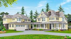 Spacious Farmhouse - 2385JD   Architectural Designs - House Plans