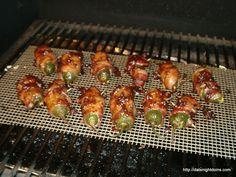 Smoked Jalapeno Poppers pellet grill BBQ smoker recipe